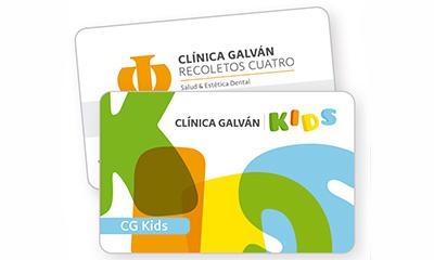 Tarjeta Galván Kids